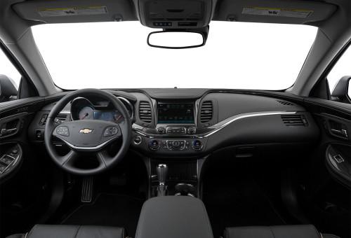 2016 Chevy Impala Dash
