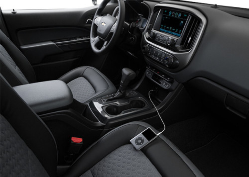 2016 Chevy Colorado Interior