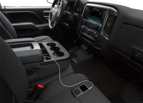 2016 Chevy Silverado Interior