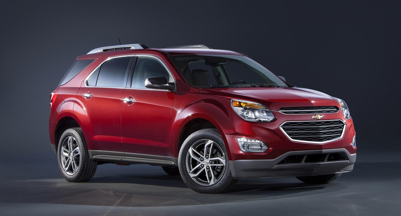 2016 Chevrolet Equinox Ltz Front 3 4