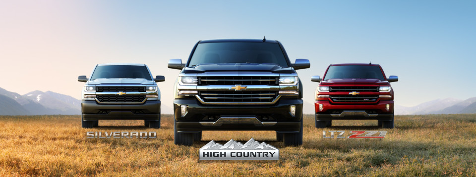 2016 Chevy Silverado Trim Options Sulphur Springs
