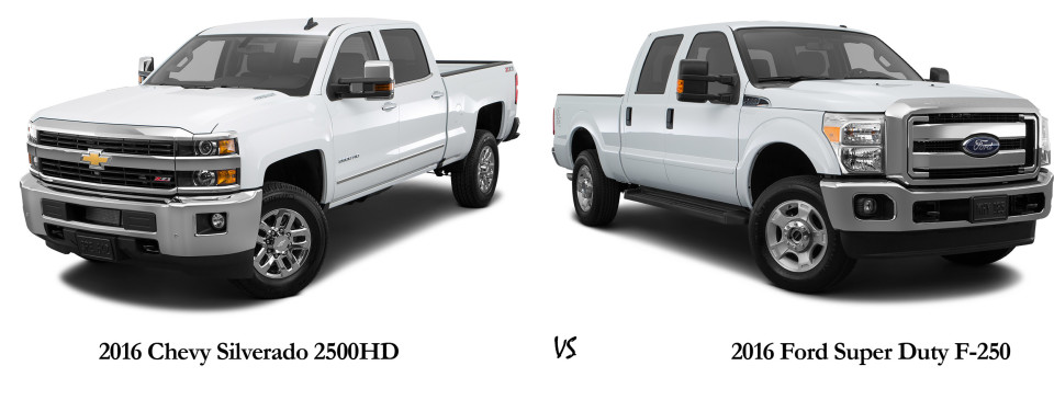 Chevy Silverado Hd Vs Ford Super Duty F E