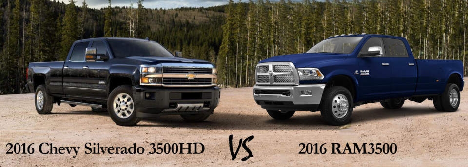 2016 chevy silverado 3500hd vs 2016 ram 3500 jay hodge. Black Bedroom Furniture Sets. Home Design Ideas