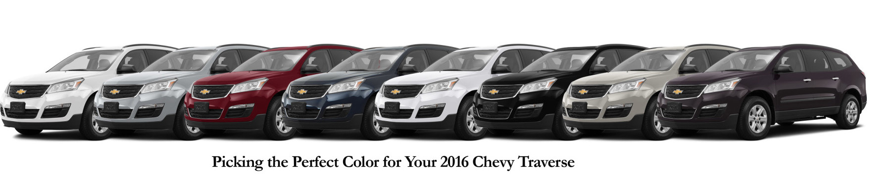 Picking The Perfect Color For Your 2016 Chevy Traverse Jay Hodge Chevrolet