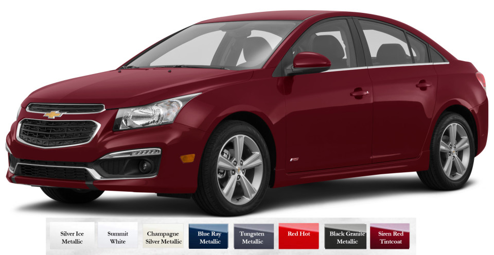 2016 chevy cruze limited color choices jay hodge chevrolet. Black Bedroom Furniture Sets. Home Design Ideas