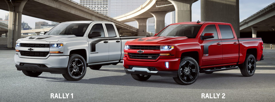 why choose the 2016 chevy silverado rally edition jay hodge chevrolet. Black Bedroom Furniture Sets. Home Design Ideas