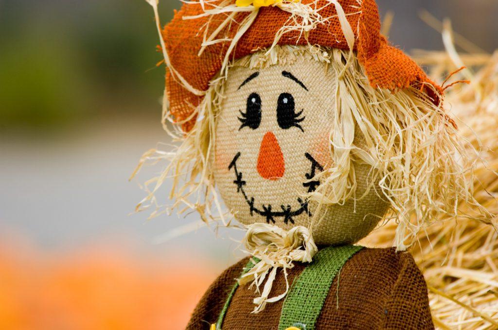 scarecrow at Kaufman Scarecrow Festival