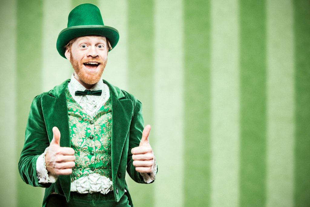 Leprechaun Man Celebrating Saint Patrick's Day